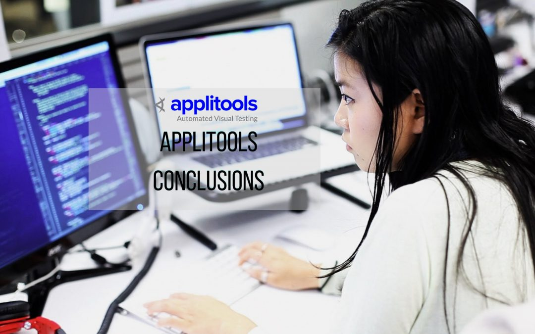 Applitools Conclusions